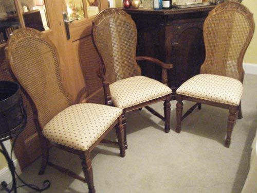Dining Chairs upholstery